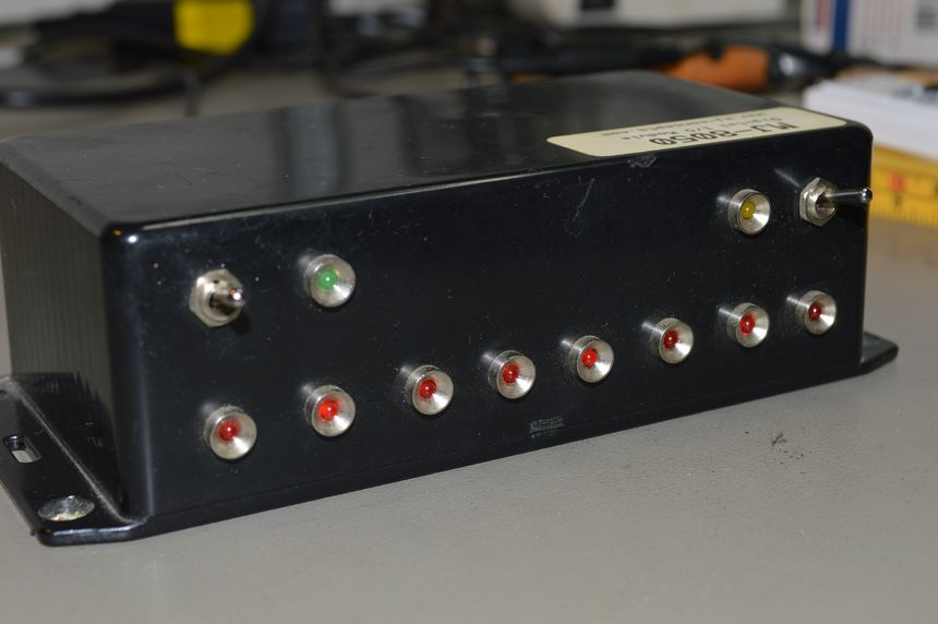 Parallel port I/O module