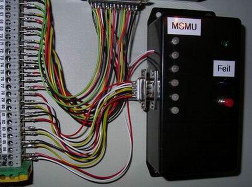 Module heartbeat monitor, 6 inputs — AVR