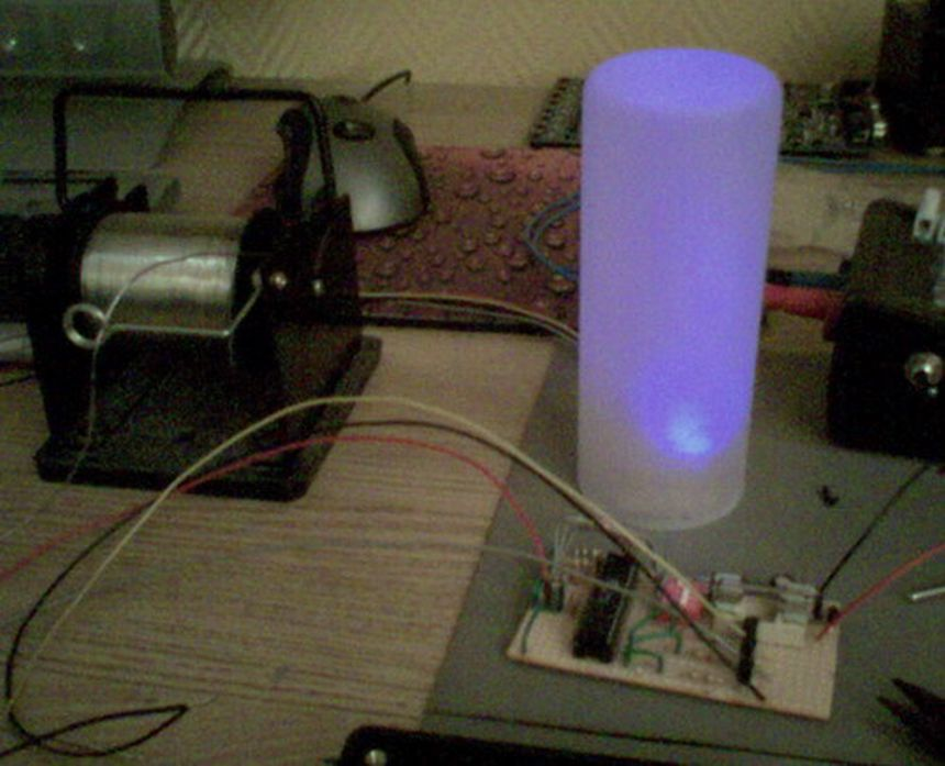 AVR mood light, 100mA per channel