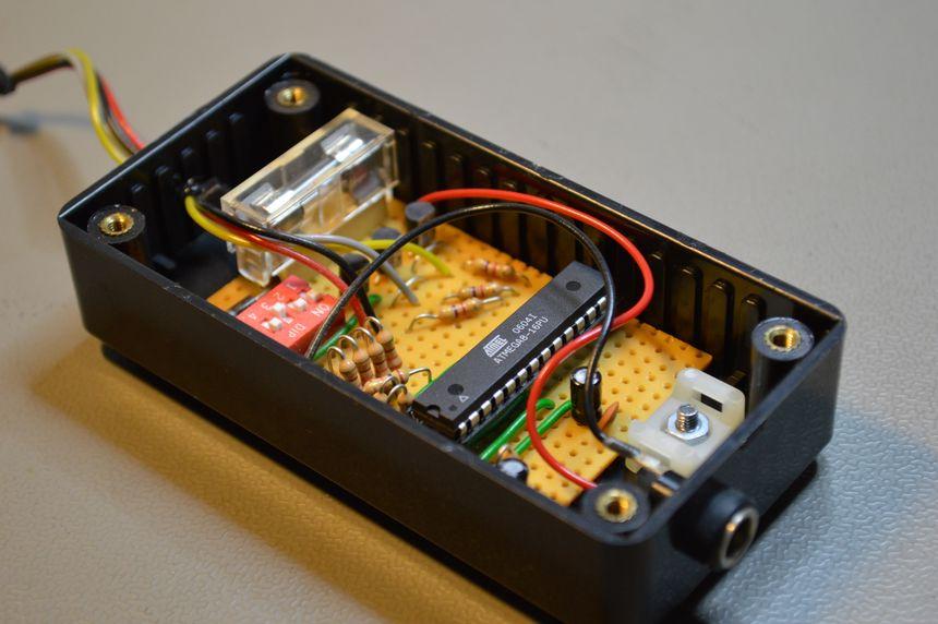AVR mood light, 500mA per channel