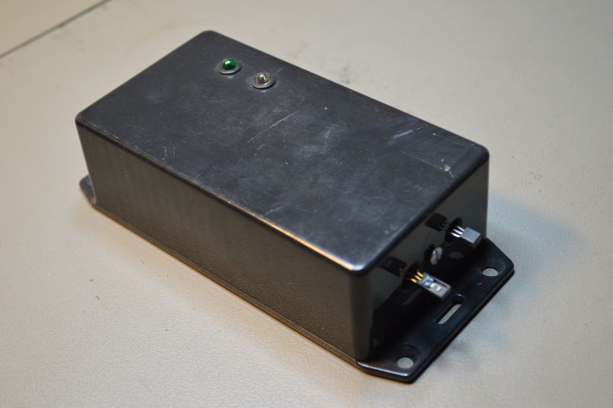 Temperature and humidity sensor (RS-232), AVR