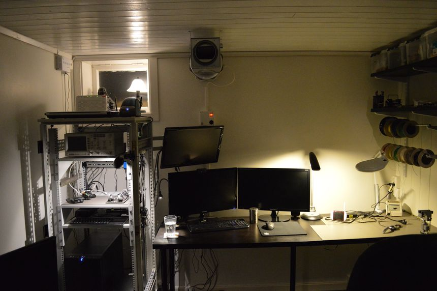 The first look at my home office/man cave