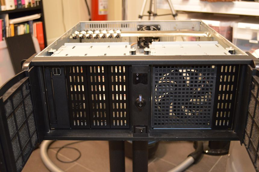 I&S EYE-4808BK server case