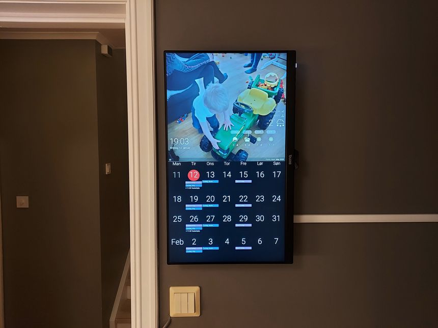 Raspberry Pi DAKboard display