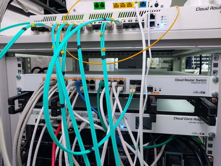 Replacing Unifi switches with MikroTik